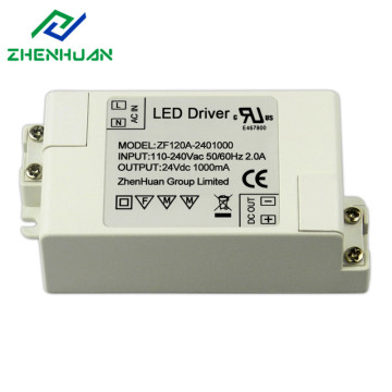 24W 24Volt 1000ma Led Strip Driver LG TV