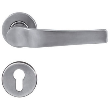 Solid Casting Steel Gate Door Handle
