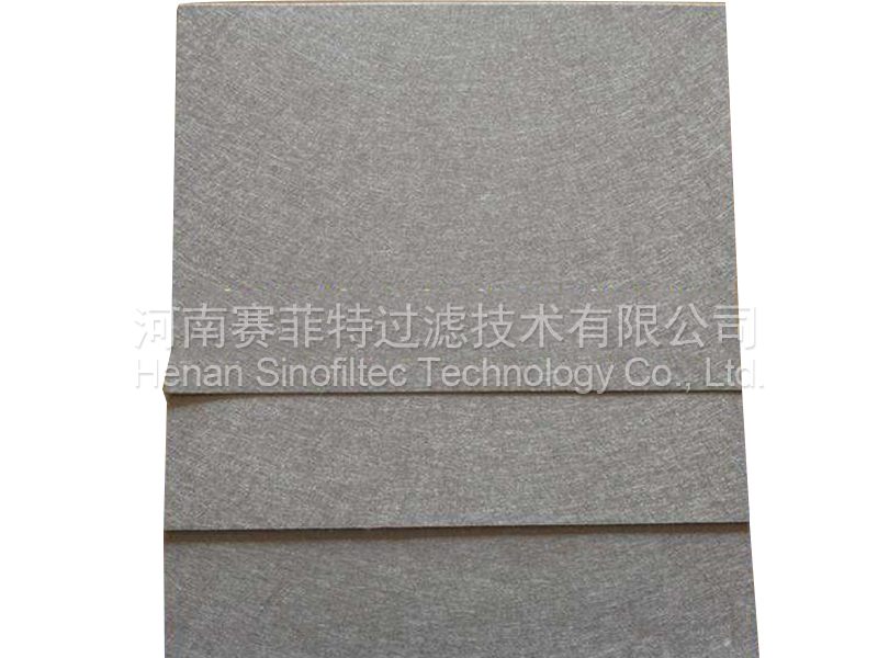 Sintered SS316L metal fiber medium