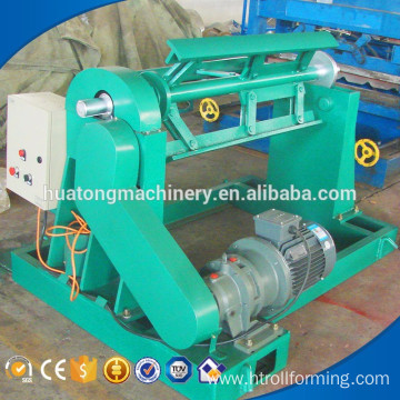 Hot product metal sheet electric decoiler machine price