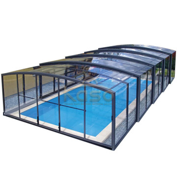 Aluminium Retractable Roof Swimming Pool Cover