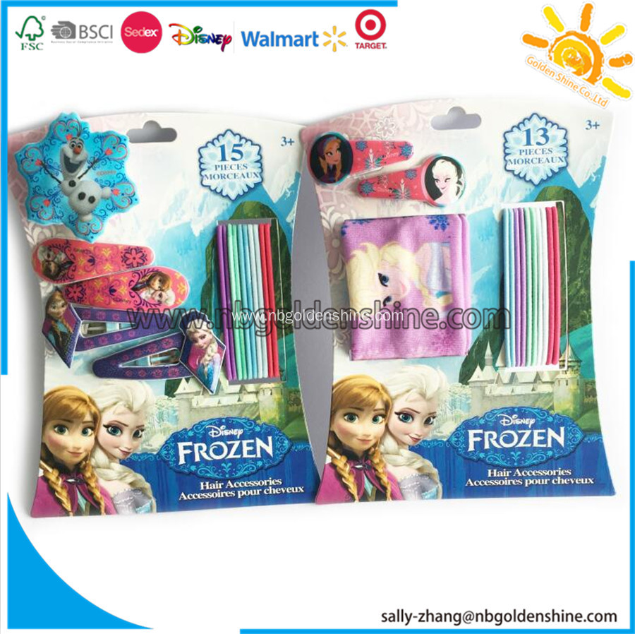 Frozen Hair Accessory Card