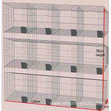 Cheap Rabbit Farming Cage, Industrial Cage for Rabbit ,Commercial rabbit cage in farm