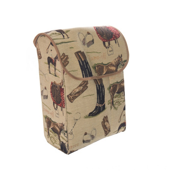 Large Size Outdoor Printing Draw-bar Bag with wheels