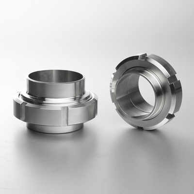 Pipe Fitting Union Round Nut Liner
