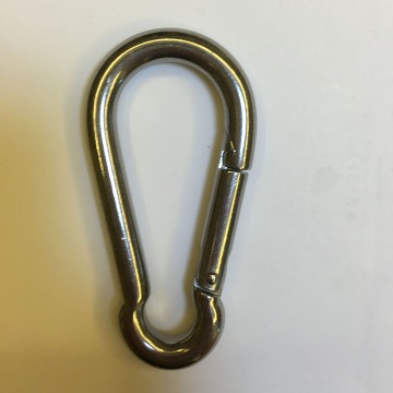 Stainless Steel 304/316 8MM Spring Snap Hook Carabiner