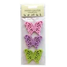 Easter butterfly shape sticker