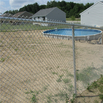 Farm and Field Galvanized Chain Link Fence