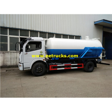 Vacuum 4000L 4x2 Dung Suction Trucks