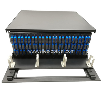 Fiber Patch Panel Enclosure High Density Slide-out Rack 4U 144 Port