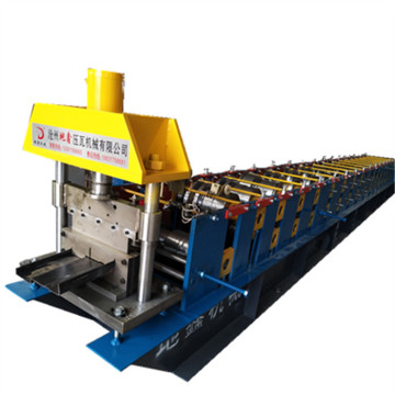 High quality metal steel door frame making machines