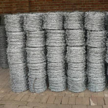 hot sale chain link top barbed wire