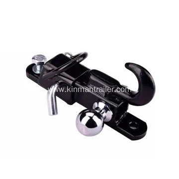 3 Way Hitch Adapter with 2 Inch Hitch Ball