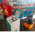 roof panel curve crimping machine