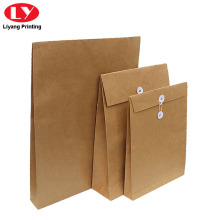 Kraft Paper Envelope String Close for Documents