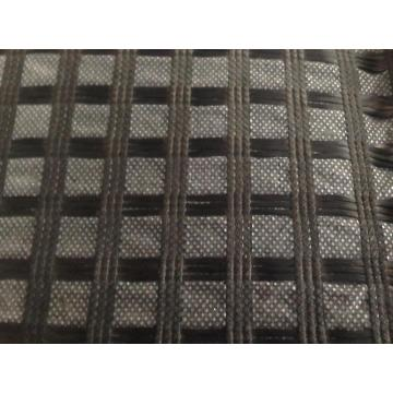 Geocomposite Warp Knitted Fiberglass Geogrid With CE Mark