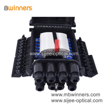 288 Cores Horizontal Fiber Optic Access Terminal Closure 4 Inlet 4 Outlet
