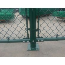 Hot sale 8ft Galvanized Chain Link Fence