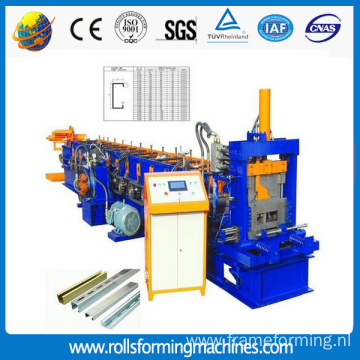 C Z Purlin Roll Forming Machine
