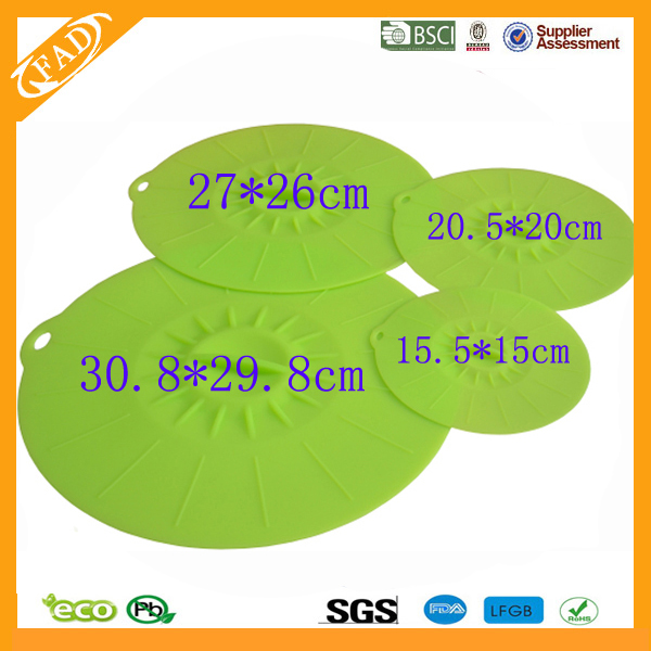 silicone suction lid