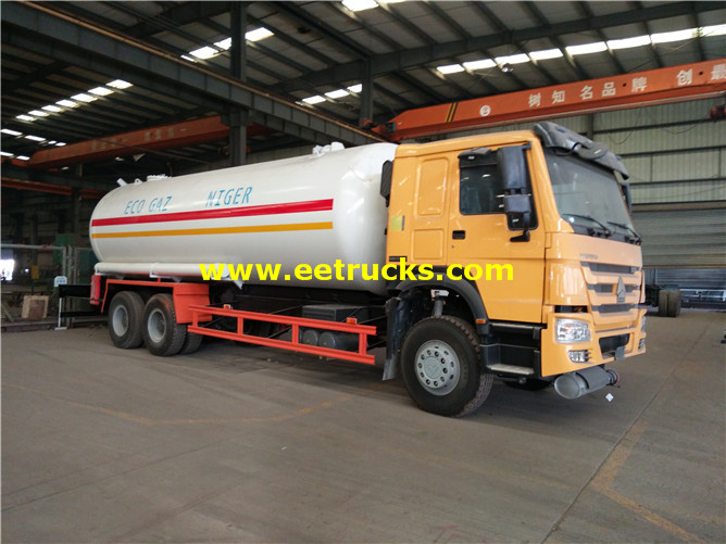 6x4 LPG Road Tank Vehicles