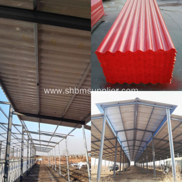 Corrosion-Resistant Fireproof MgO Roof Sheet For WorkShop