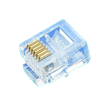 Crystal Unshielded Modular Plug 6P6C