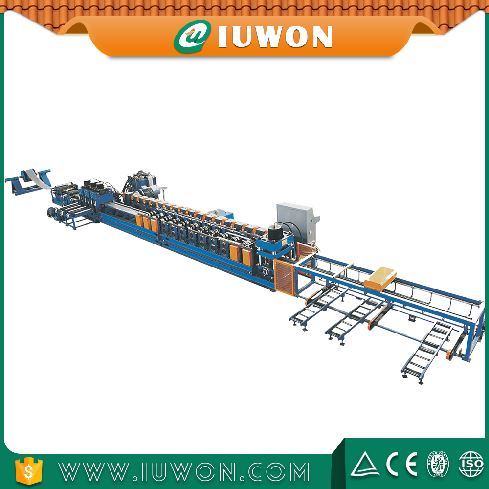 IUWON Highway Guardrail Cold Roll Forming Machine