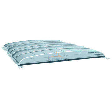 Roof Poland Sliding Swimming Pool Safety Cover