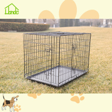 Expanded Metal Black Dog Cage For Home