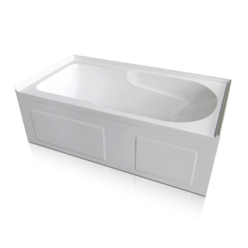 60 x 32 Modern 3 Wall Alcove Soaking Tub