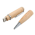 Practical USB Flash Drive Wood Pen Shape USB