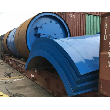 profitable used tyre pyrolysis plant