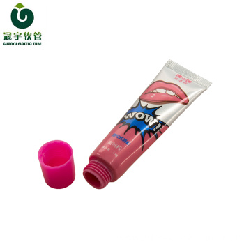 15g cosmetic aluminum-plastic tube for lipstick packaging