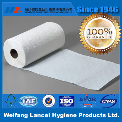 1 Ply Disposable Kitchen Towel Roll paper