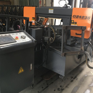 Horizontal Metal Cutting Off Bandsaw Machine