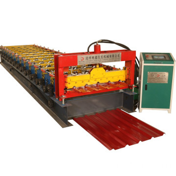 Galvanized steel sheet ibr roofing machine