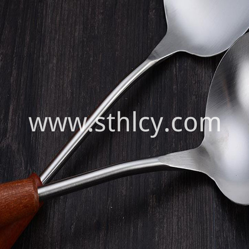 Stainless steel household spatula