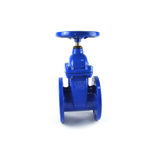 JKTL high quality DIN F4 GGG50 DN100 ductile iron gate valve