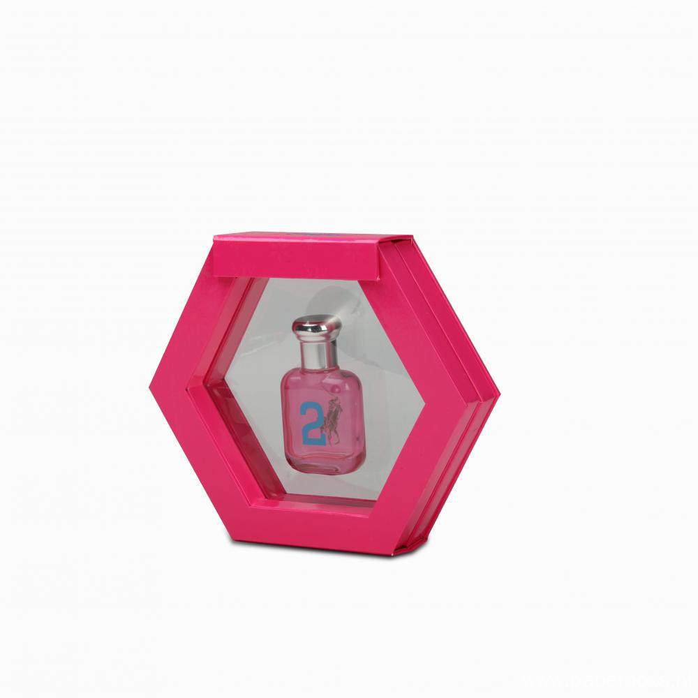 Hexagon Shape Perfum Box With Clear window