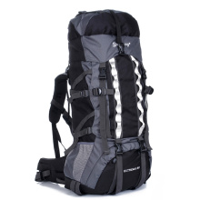 wholesale custom black rib-stop nylon outdoor backpack