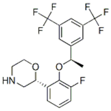 (2R, 3S) -2 - [(1R) -1- [3,5-Bis (trifluoromethyl) फिनाइल) इथोक्सी] -3- (4-फ्लोरोफिनाइल) मॉर्फोलिन CAS 171338-27-5