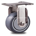 1.5inch  Flat Stainless steel caster