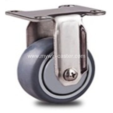 1.9inch  Flat Stainless steel caster
