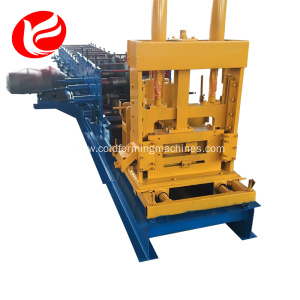 Cold steel z purlin section roll forming machine