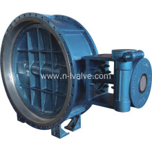 Fast Delivery for Rubber Lined Flange Butterfly Valve Cycle Water Soft Seal Butterfly Valve supply to Libya Suppliers