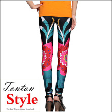 Holiday sales for Printed Leggings womens fitness tights ladies sexy tight leggings supply to Trinidad and Tobago Factories
