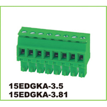 5.08mm Feed Through Electrical Pluggable Terminal Connector