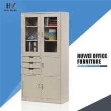 Office glass door steel file cupboard