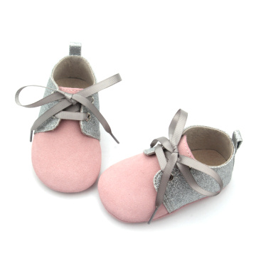 Genuine leather Bowknot Baby Girl Oxford Shoes